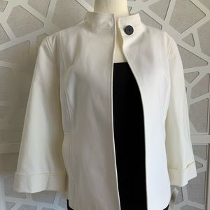 NWT Talbots Collection Open Front Cotton Jacket
